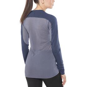 Norrøna Bitihorn Wool - T-shirt manches longues Femme - bleu